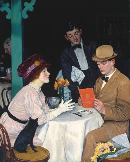 Bank Holiday 1912 William Strang 1859-1921 Presented by F. Howard through the National Loan Exhibitions Committee 1922 http://www.tate.org.uk/art/work/N03036