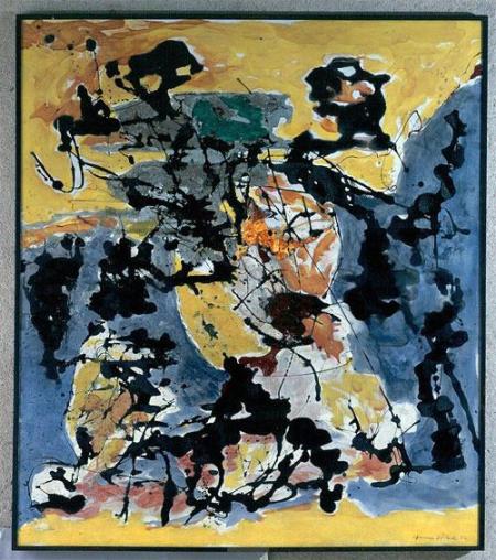 Pollock no 12 1952