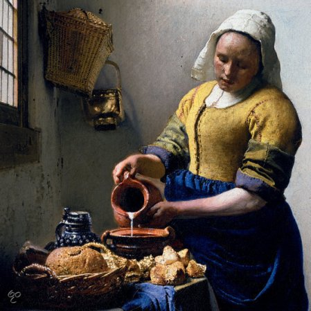 vermeer milkjug