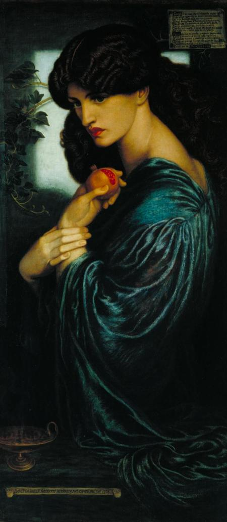 Proserpine 1874 Dante Gabriel Rossetti 1828-1882 Presented by W. Graham Robertson 1940 http://www.tate.org.uk/art/work/N05064