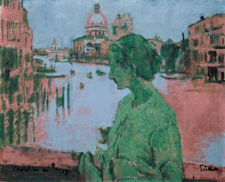 Variation on Peggy 1934-5 Walter Richard Sickert 1860-1942 Bequeathed by Dame Peggy Ashcroft 1992 http://www.tate.org.uk/art/work/T06601