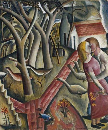 Jones, David; The Garden Enclosed; Tate; http://www.artuk.org/artworks/the-garden-enclosed-199551